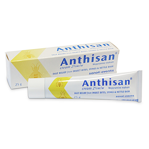 ANTHISAN Antihistamine Cream, 25g