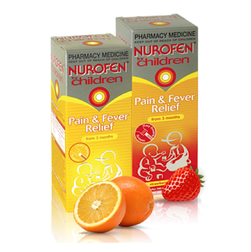 NUROFEN For Children Oral Suspension, 200mL