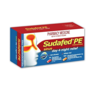 SUDAFED PE Sinus Day & Night Relief Tablets