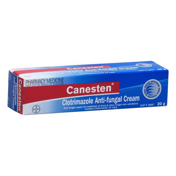 CANESTEN 1% Clotrimazole Anti-fungal Topical Cream