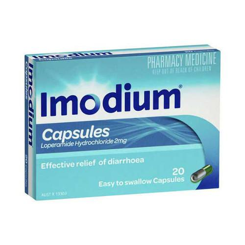 IMODIUM 2mg Capsules