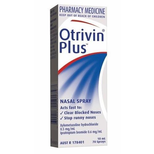 OTRIVIN Plus Nasal Spray, 10mL