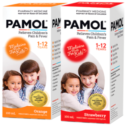 PAMOL Children's Pain and Fever Liquid