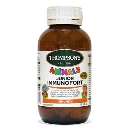 THOMPSON'S Junior Immunofort Tablets, 90's