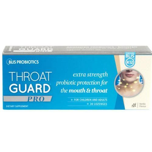 BLIS Throat Guard Pro Vanilla Lozenges, 30's