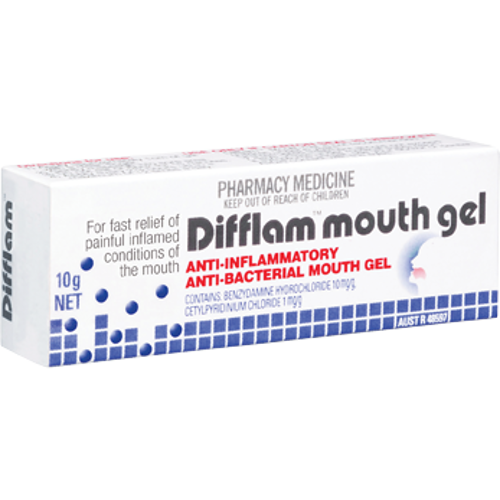 DIFFLAM Mouth Gel, 10g