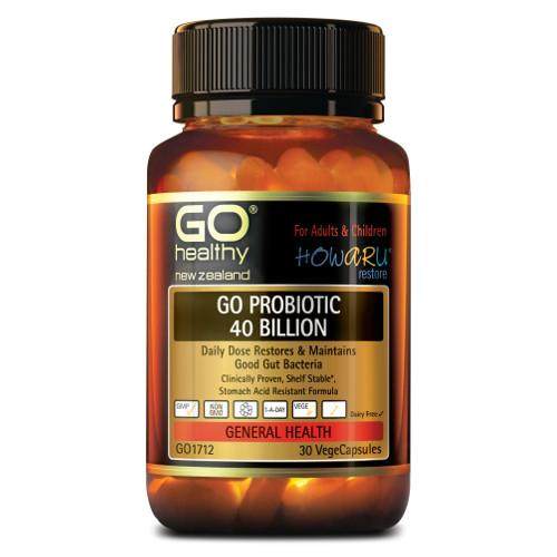GO Probiotic 40 Billion VegeCapsules