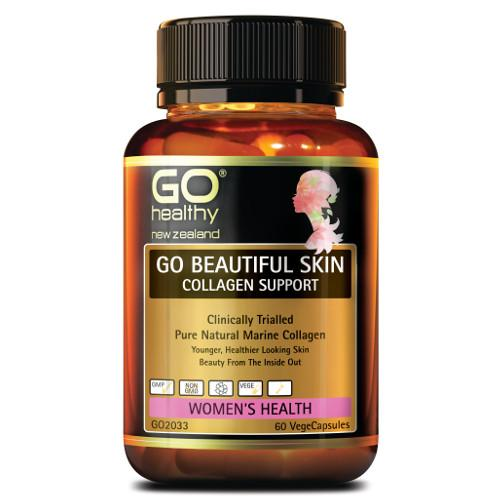 GO Beautiful Skin Collagen Support VegeCaps