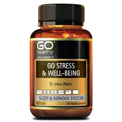 GO Stress & Well Being VegeCapsules