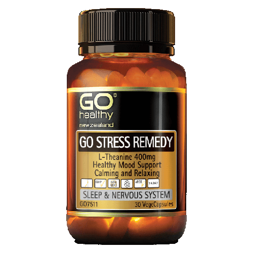 GO Stress Remedy VegeCapsules
