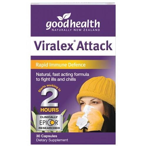 GOOD HEALTH Viralex Attack Capsules, 30's