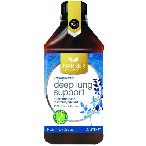 HARKER HERBAL Deep Lung Support, 250mL