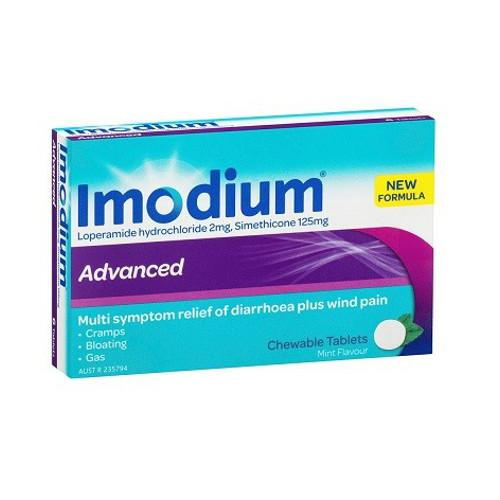 IMODIUM Advanced Chewable Tablets, 12's