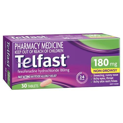 TELFAST 180mg Tablets