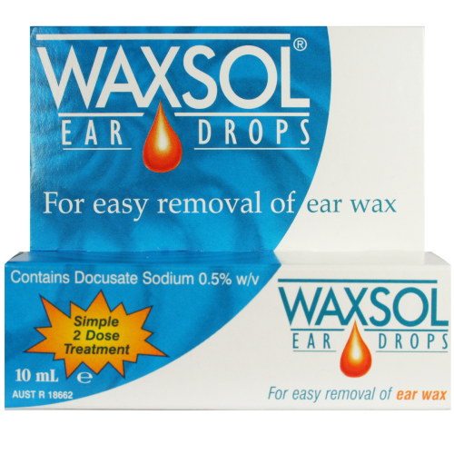 WAXSOL Ear Drops, 10mL