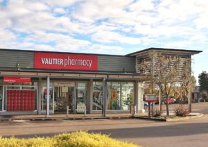 Vautier Pharmacy Summerhill shop front